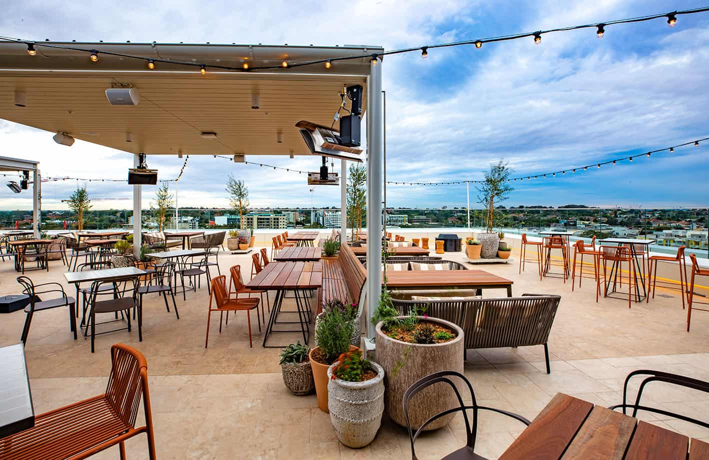 New rooftop bar at one of Australia's top clubs