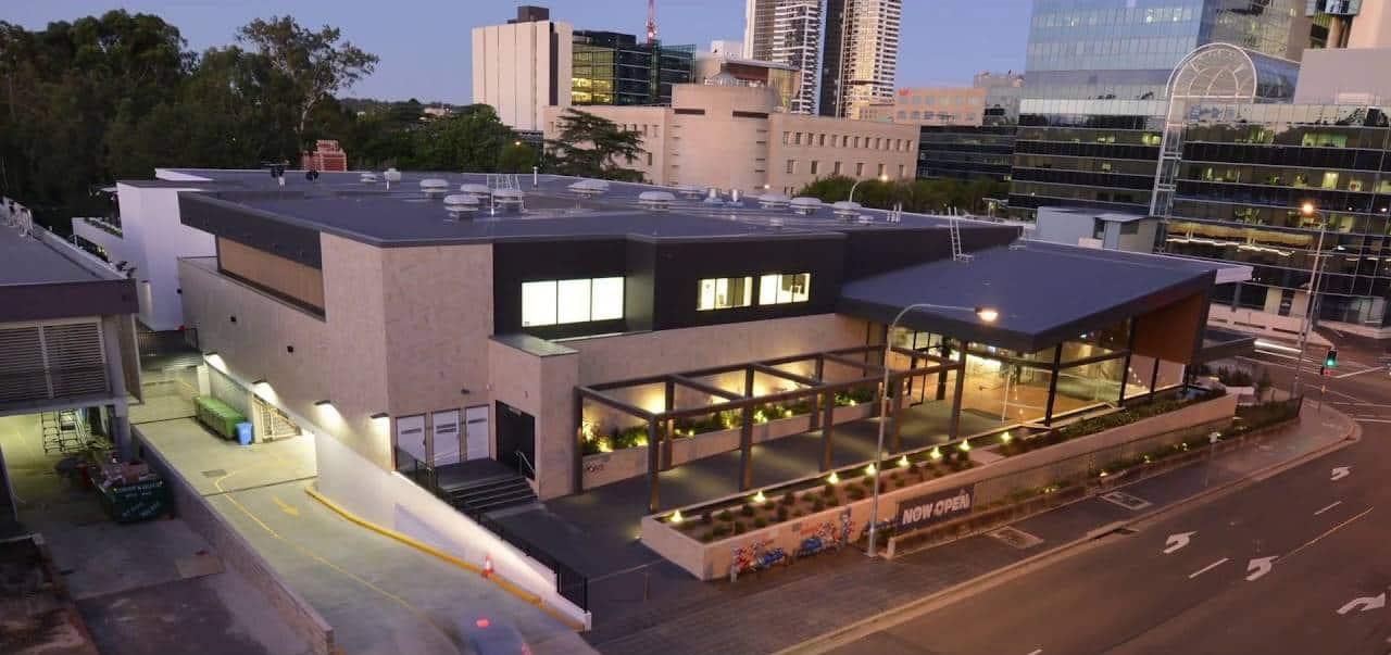 Paynter Dixon complete works at Club Parramatta