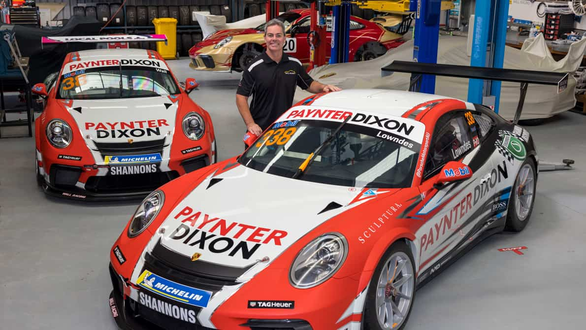 Lowndes and Wall to represent Paynter Dixon in Carrera Cup