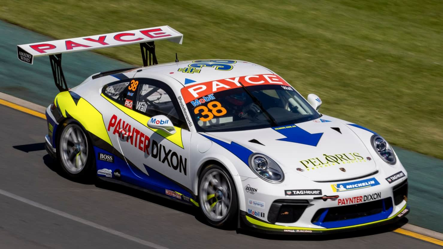 Paynter Dixon announced as Title Partner for 2021 Carrera Cup